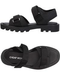 Cheap Monday Sandals - Black
