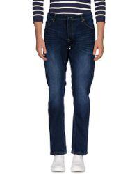 Solid - Denim Trousers - Lyst