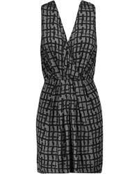 Tomas Maier Short Dress - Grey
