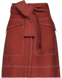 Valentine Gauthier Mini Skirt - Red