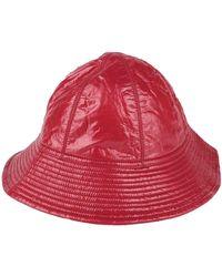 Rick Owens DRKSHDW Hat - Red