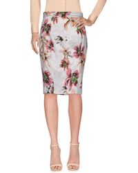 Blumarine - Knee Length Skirts - Lyst