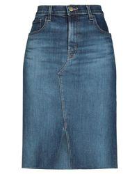 J Brand Denim Skirt - Blue