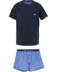 Emporio Armani Sleepwear - Blue