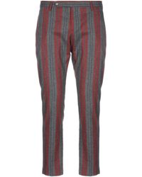 Entre Amis Casual Trousers - Red