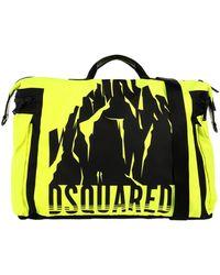 DSquared² Reisetasche - Gelb