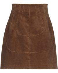 N°21 Knee Length Skirt - Brown