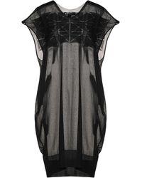 Y-3 Short Dress - Black