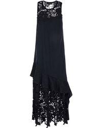 Maria Grazia Severi Long Dress - Black
