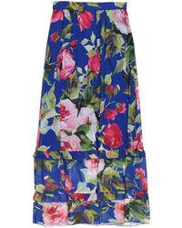 Blugirl Blumarine Long Skirt - Blue