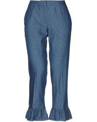Anna Rachele Denim Pants - Blue