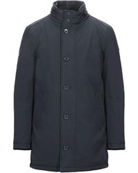 Henry Cotton's Synthetic Down Jacket - Blue