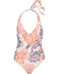 Tori Praver Swimwear Maillot une pièce - Blanc