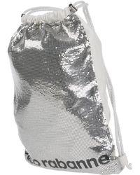 Paco Rabanne Backpacks & Fanny Packs - Metallic