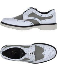 Hogan Chaussures à lacets - Blanc