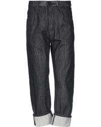 Armani Jeans Denim Trousers - Black