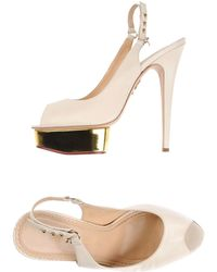 Charlotte Olympia Sandales - Neutre