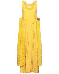 Ports 1961 Vestido midi - Amarillo