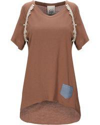 Jijil T-shirt - Brown