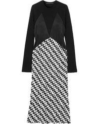 Haider Ackermann Midi Dress - Black