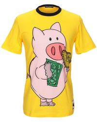 Dolce & Gabbana T-shirt - Yellow