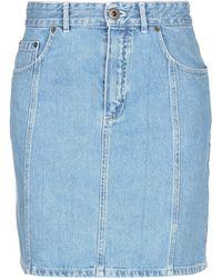 Chloé Denim Skirt - Blue
