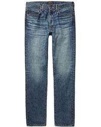 Beams Plus Denim Trousers - Blue