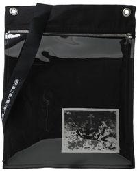 Rick Owens DRKSHDW Borse a tracolla - Nero