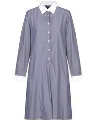 Vanessa Seward Knee-length Dress - Blue