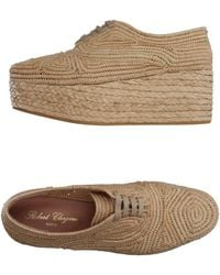 Robert Clergerie Lace-up Shoe - Natural
