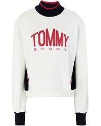 Tommy Sport Sudadera - Blanco