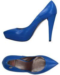 Betty Blue Pump - Blue