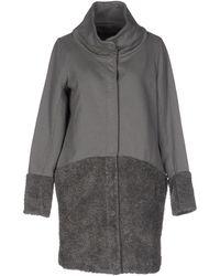 European Culture Coat - Grey