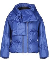 Pinko Synthetic Down Jacket - Blue