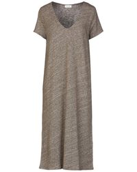 American Vintage Midi-Kleid - Mehrfarbig