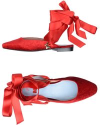 MR by Man Repeller Mules - Red