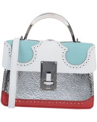 the VOLON Handbag - Metallic