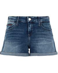 Tommy Hilfiger Shorts jeans - Blu