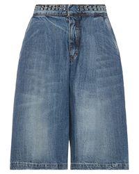 Souvenir Clubbing Bermuda jeans - Blu