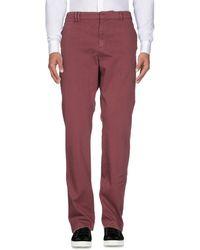Billtornade Pantalones - Rojo