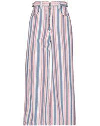 Miu Miu Denim Pants - Pink