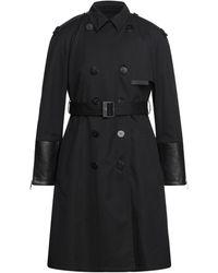 Neil Barrett Overcoat - Black