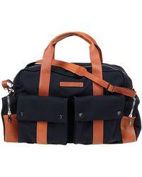 Brunello Cucinelli Travel Duffel Bags - Blue