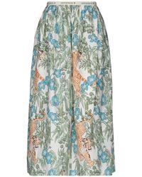 Shirtaporter Long Skirt - Green