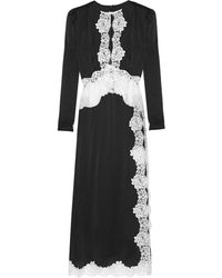 Alessandra Rich - Long Dress - Lyst