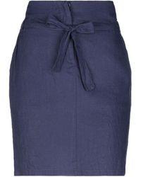 Armani Jeans Mini Skirt - Purple
