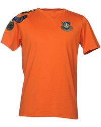 Mr & Mrs Italy T-shirt - Orange