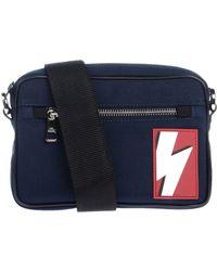 Neil Barrett Cross-body Bag - Blue