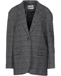 Just Female Suit Jacket - Grey