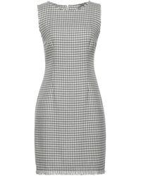Tonello Short Dress - Grey